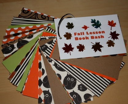 Fall Book Bash Cards