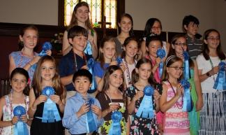 Blue Ribbon Practice Winners
