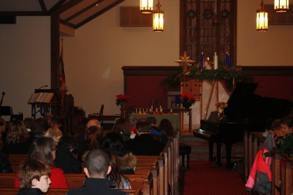 We performed at St. Margaret's Church in Annapolis.