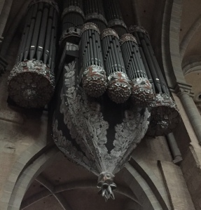 The great organ at the Cathedral of Trier, Germany