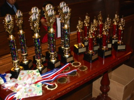 The AWARDS RECITAL is loaded with Trophies, Medals, Ribbons, and LOTS of fun!